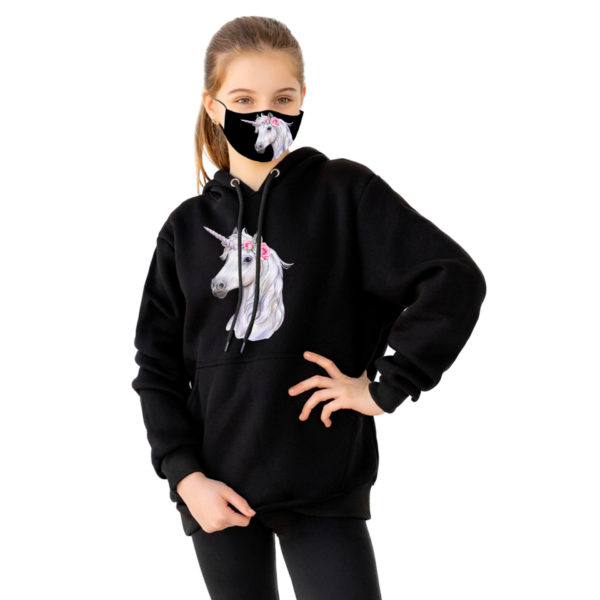 Unique Face Mask And Matching Top Wear Trending This Winter